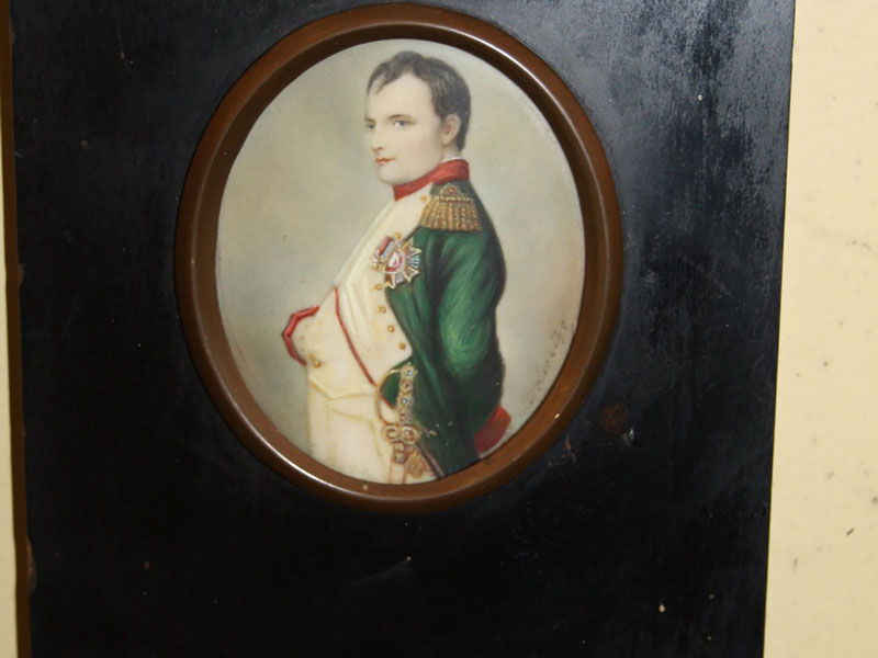 Portrait Miniature of Napoleon