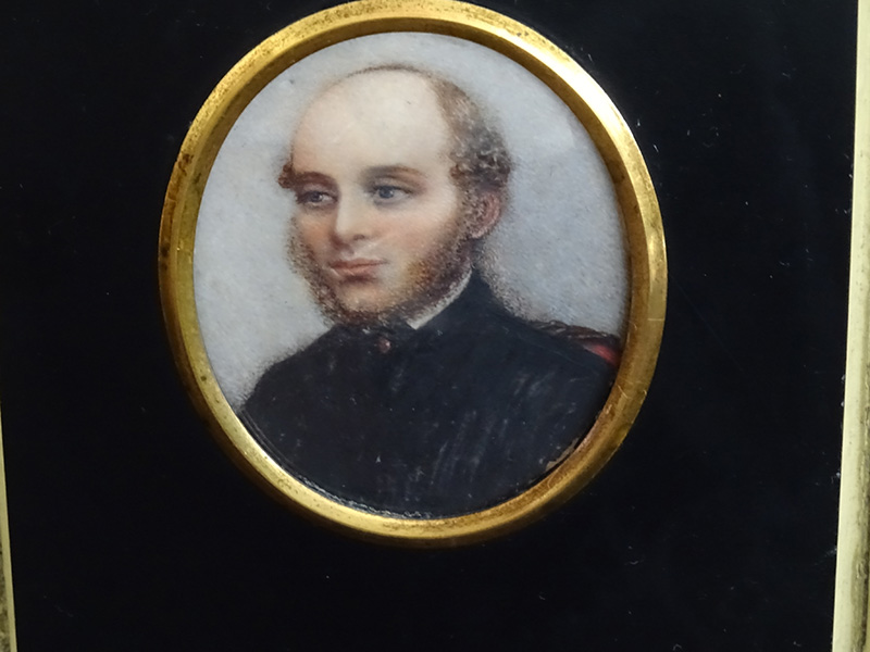 19th Century Miniature of a Gentleman