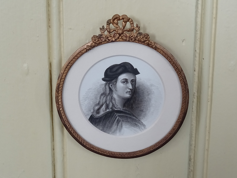 19th Century Pencil/Waterclour of a Young Man