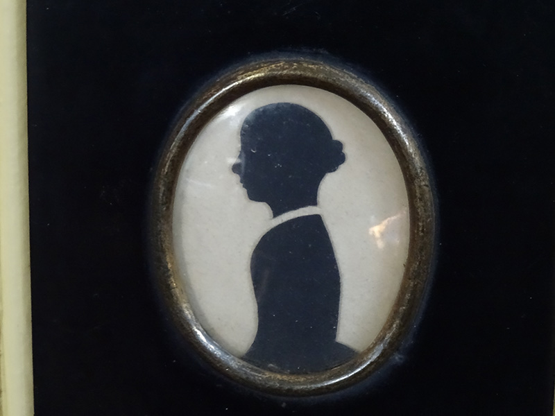 19th Century Silhouette Family Group