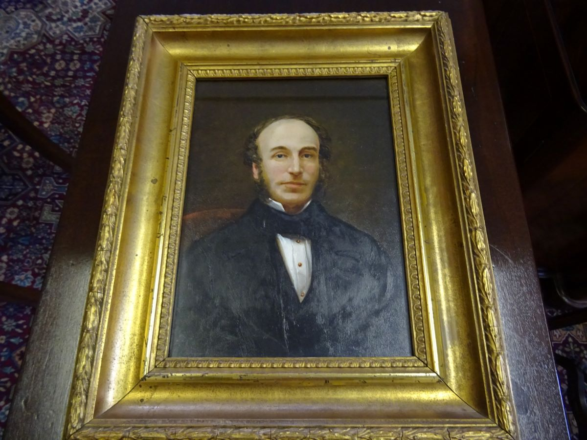 19th century oil of a gentleman