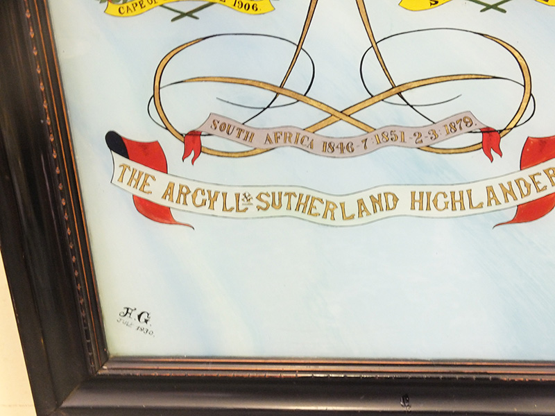 Argyll and Southerland Highlanders Coat of Arms