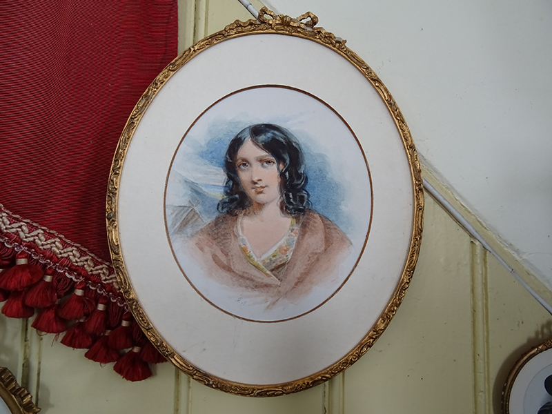19th Century Watercolour of a Lady