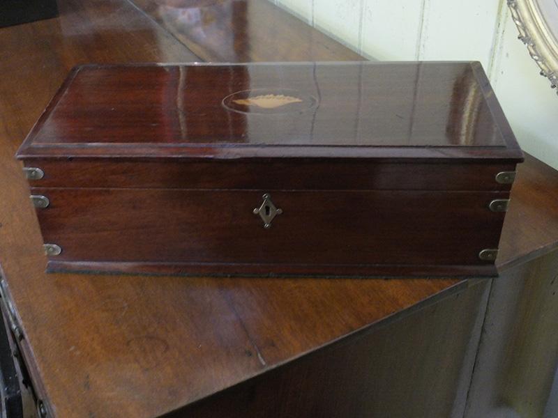 George 111 mahogany box