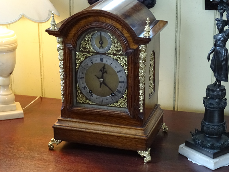 19th. century Winterhalder & Hofmeier Ting-Tang bracket clock