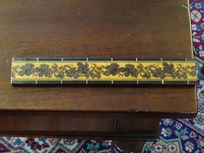 Tunbridge Ware ruler