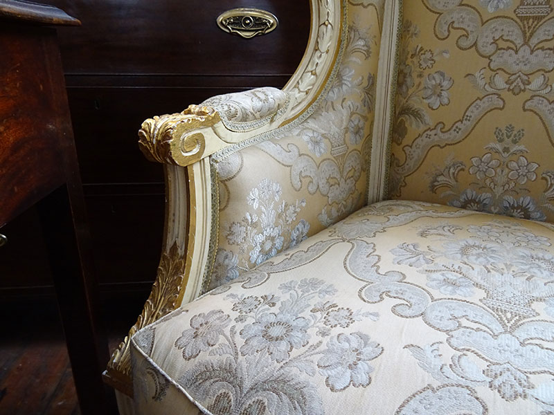 Ornate French Armchair
