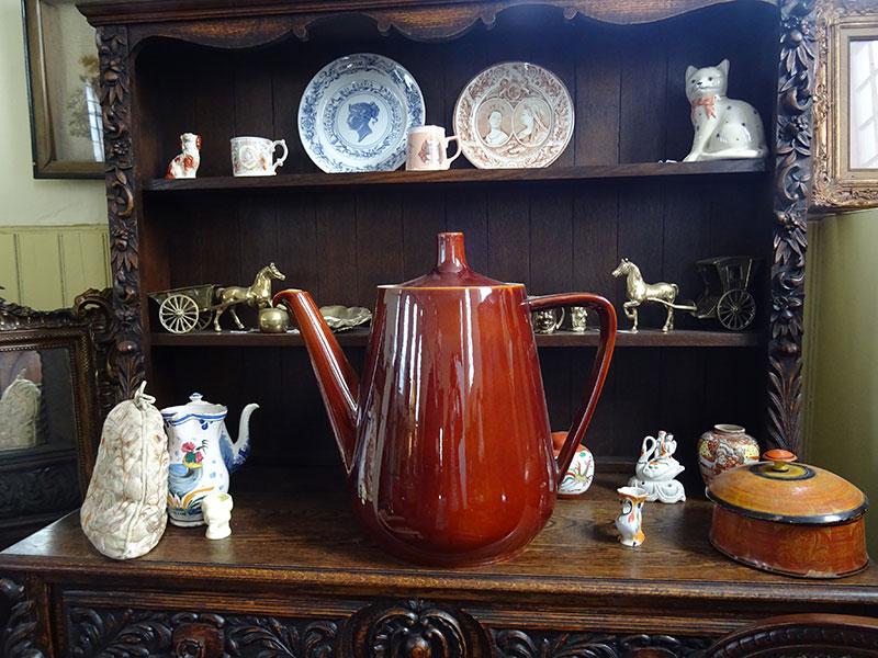 Massive Advertising Teapot