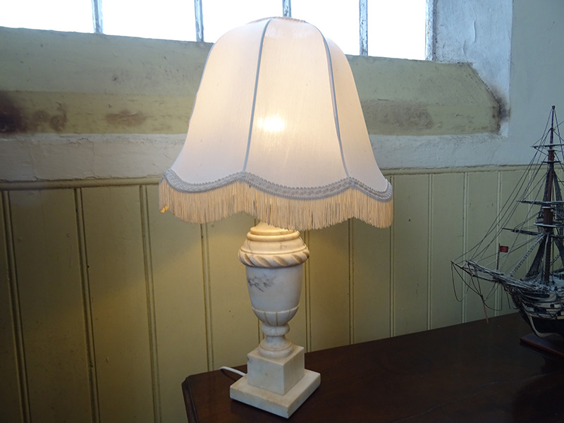 Marble Urn Lamp