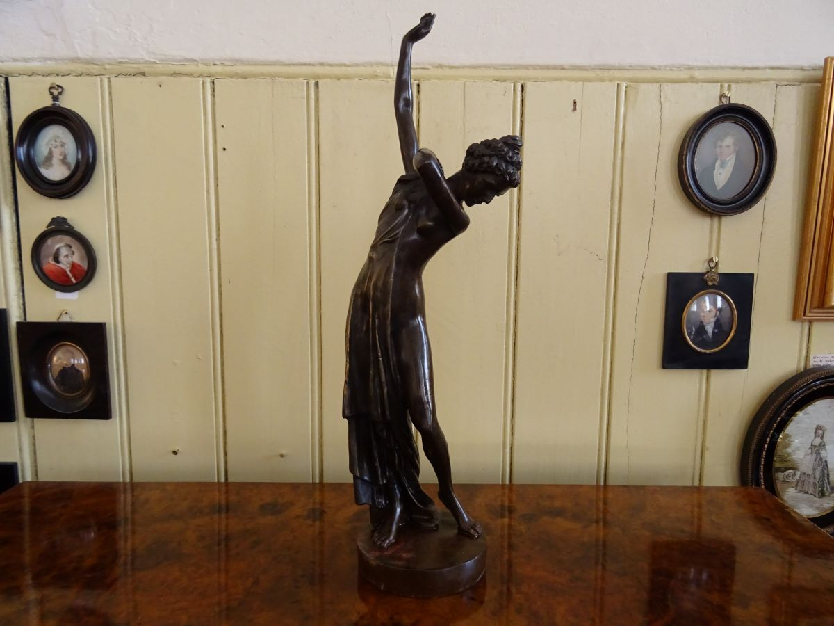 Early 1900's Bronze Classical female