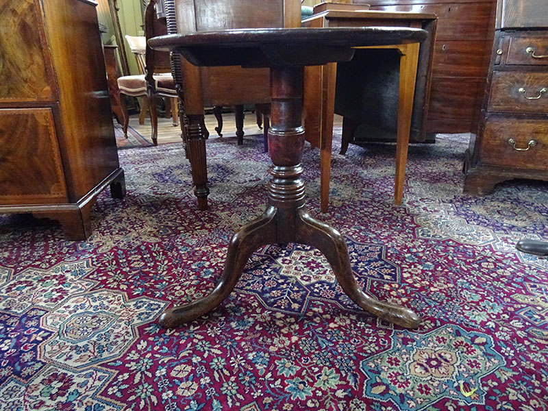 19th Century Georgian Mahogany Wine Table