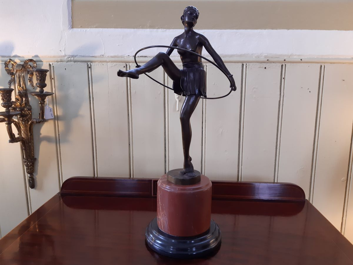 Bronze figure of Dancer