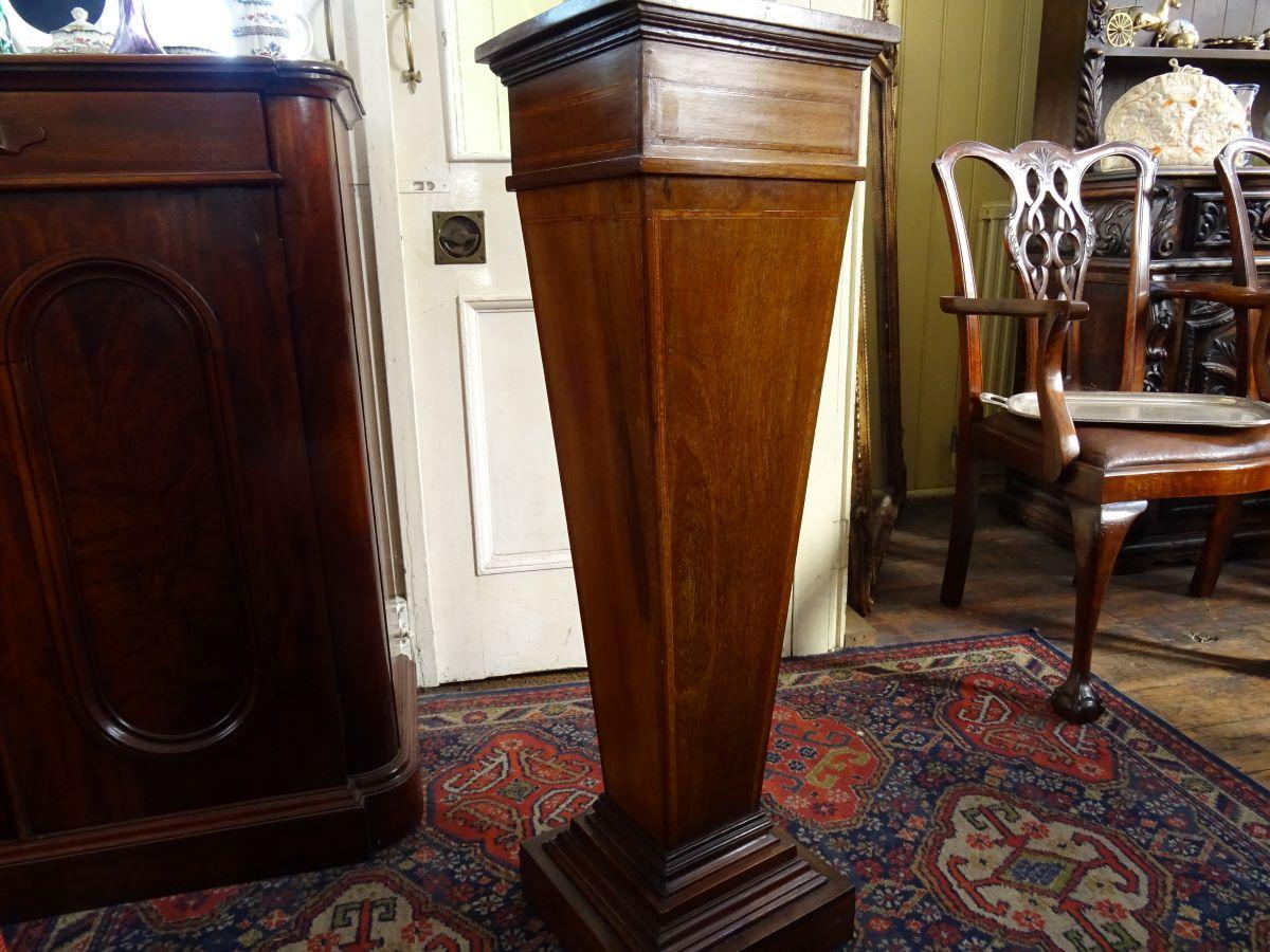 Edwardian Mahogany Pedestal