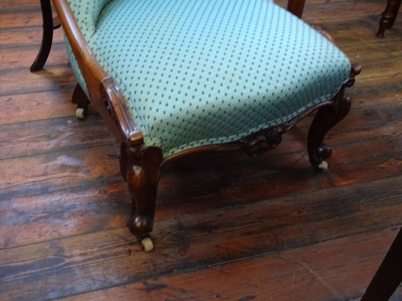 Early 19th.century Rosewood nursing chair