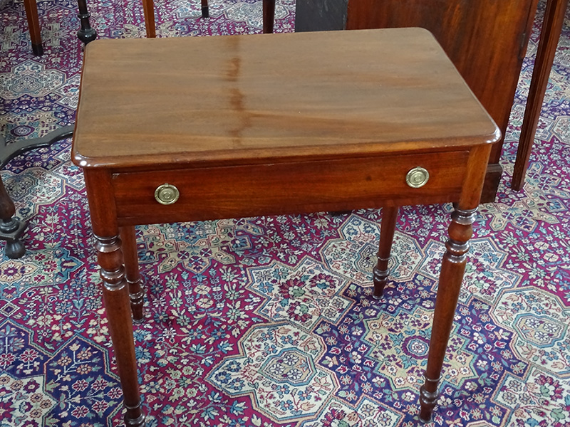 19th. century mahogany side table