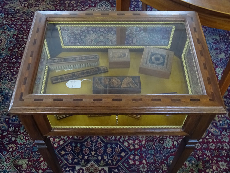 Edwardian Bijouterie/ display table